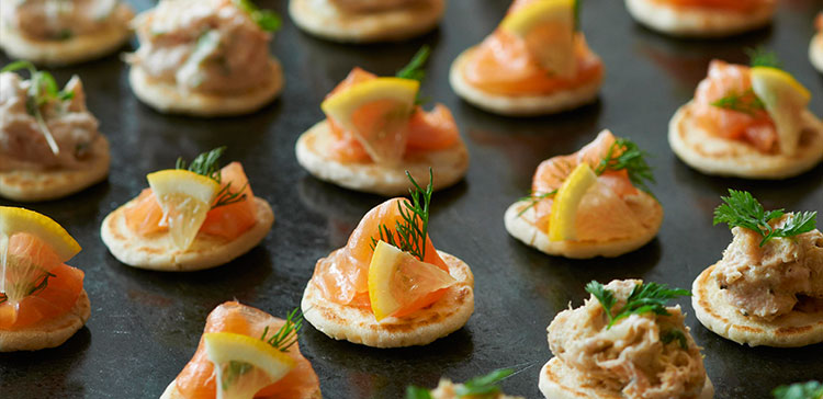 5 Canapes