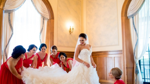 WEDDING Brides Train
